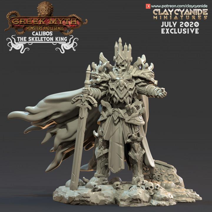 Calibos, the Skeleton King