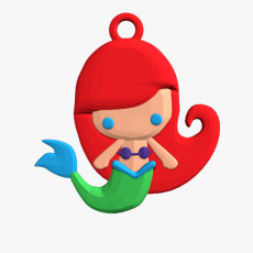 230x230 1000x1000 mermaid keychain