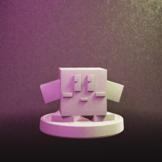 Block Kirby Amiibo