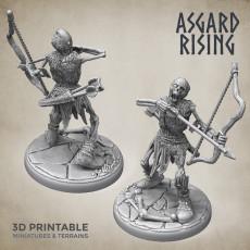 Draugr #6 Archer Undead Skieleton Modular Set PRESUPPORTED