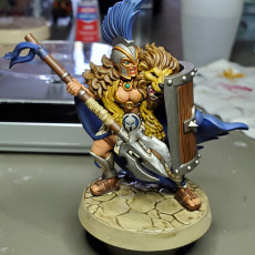 Picture of print of Aris - Female Gladiator - 32mm - DnD