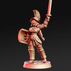 Murmilla - Female Gladiator - 32mm - DnD