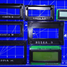 Universal Mounting Mask for LCD Modules