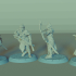 Elven Archers Set, 4 Miniatures, Dungeons&Dragons !FREE!, !SUPPORTS! image