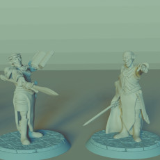 Elven Leaders Set, 2 Miniatures, Dungeons&Dragons !FREE!, !SUPPORTS!