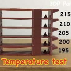 material temperature test