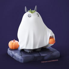 Halloween my neighbor totoro