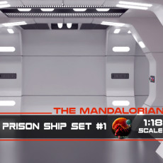 The Mandalorian - Rebel Prison Ship #1 - Side Hallway 1-18 scale