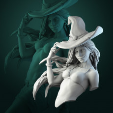 Anita the Young Witch bust