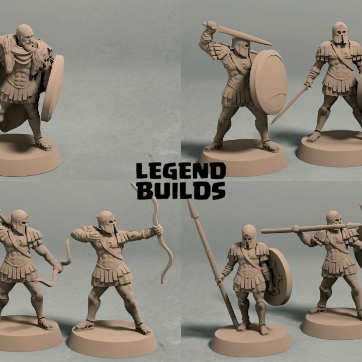 Realm of Eros army (10 miniatures) – STL files