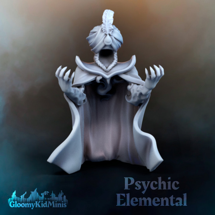 Psychic Elemental (supportless)