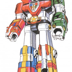 Voltron Defender of the Universe (Golion) (1981)