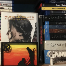 Picture of print of Hunger Games Silhouette Art