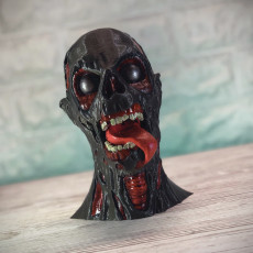 Picture of print of Ghoul Head (plus MMU)