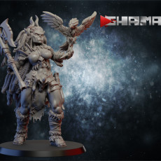 Female orc warrior 1 supports ready