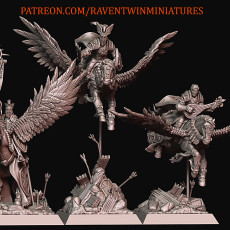PEGASUS KNIGHTS WITH COMMAND GROUP