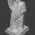 Statue of Indalecio Prieto (1984), by the sculptor P. Serrano image
