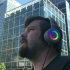 3D printed RGB head phones image