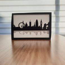 Silhouette City Skyline (several designs)