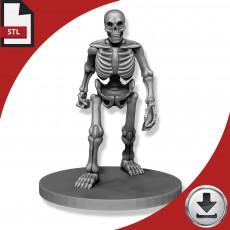 Graveyard Skeleton - Walking
