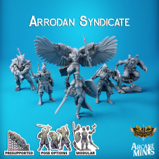 Arrodan Syndicate - Core Crew
