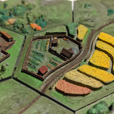 Picture of print of Hexton Hills Agriculture Set 01