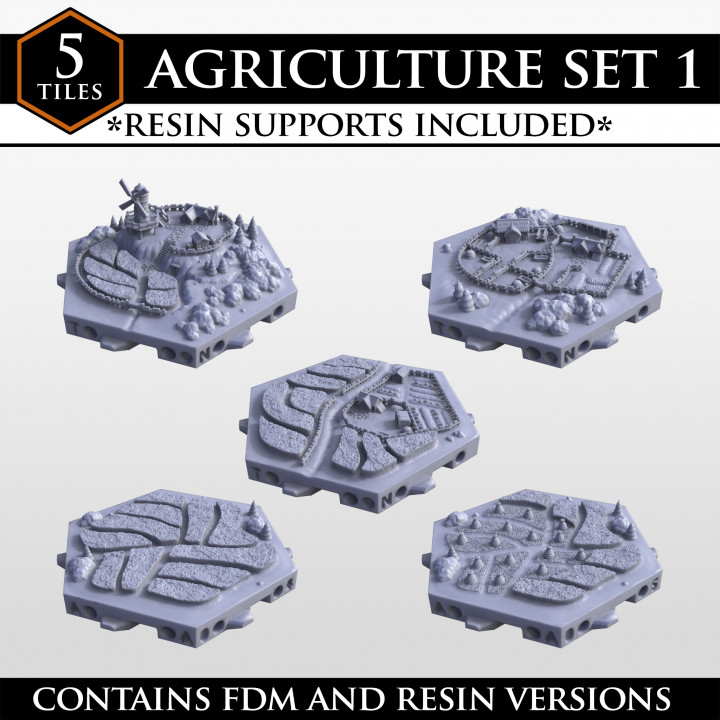 Hexton Hills Agriculture Set 01