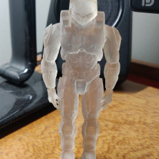 Picture of print of Halo Master Chief Support Free