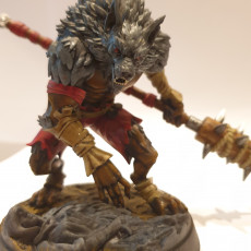 Picture of print of Vampire Hunters Lupo Werewolf