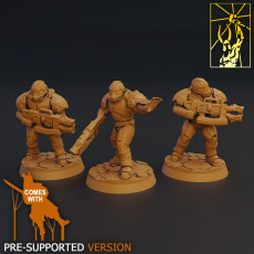 Cyber Forge Fury Fire Team
