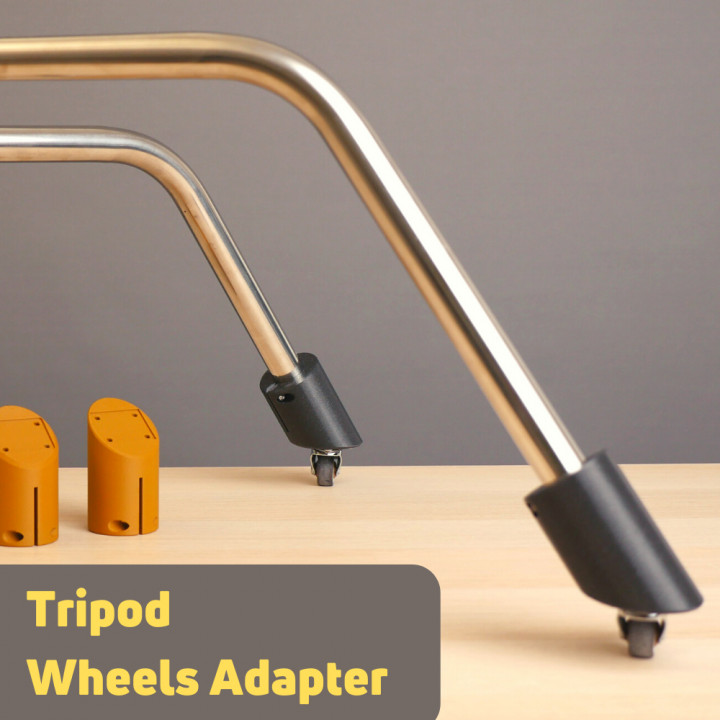 marsgizmo - C Stand Caster Wheels Adapter