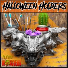 5 Halloween Holders