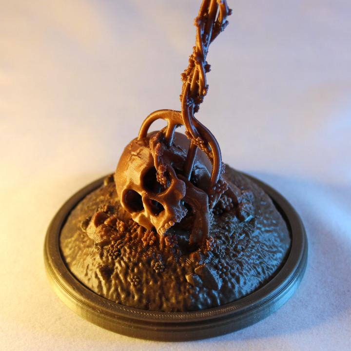 Impaled Skull