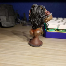 Picture of print of Damathea the warrior girl