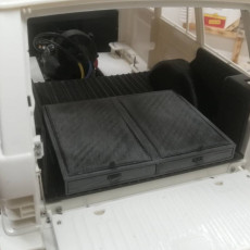 Trunk and Rear Seat for TRC Range Rover