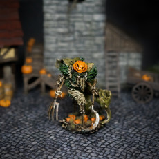Picture of print of Pumpkin Horror