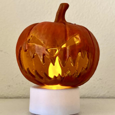 Picture of print of Halloween - Pumpkin