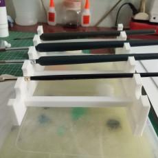 Miniatures Brush Rack