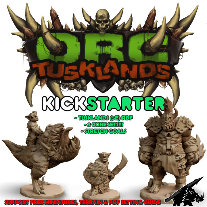 ORC: Tusklands Core Sets's Cover