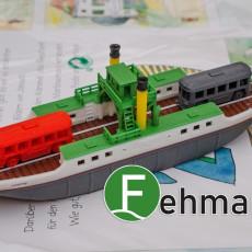 Fehmarn - a north german island ferry