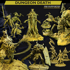 DUNGEON DEATH BUNDLE!  Pre-supported