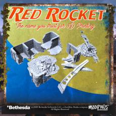 Fallout: Wasteland Warfare - Red Rocket & Sanctuary House
