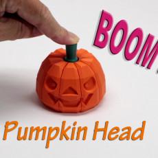 BOOM!!! Pumpkin Head