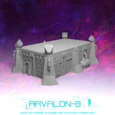 Arvalon-8 Landing Pad