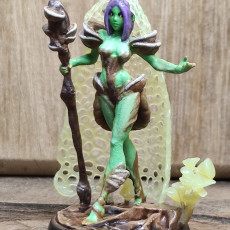 Picture of print of Myco The Spore Druid