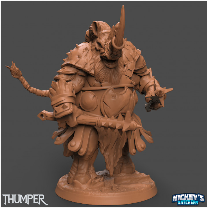 Thumper, Rhinodon Gladiator's Cover