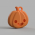 Halloween Pumpkin Keychain image