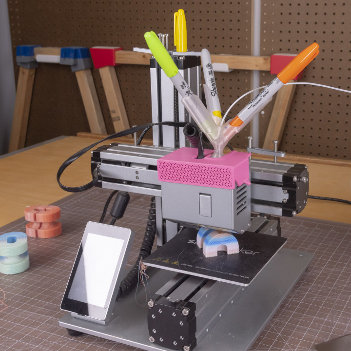 Sharpie 3 Color Blender // 3D Print Custom Colors and Gradients