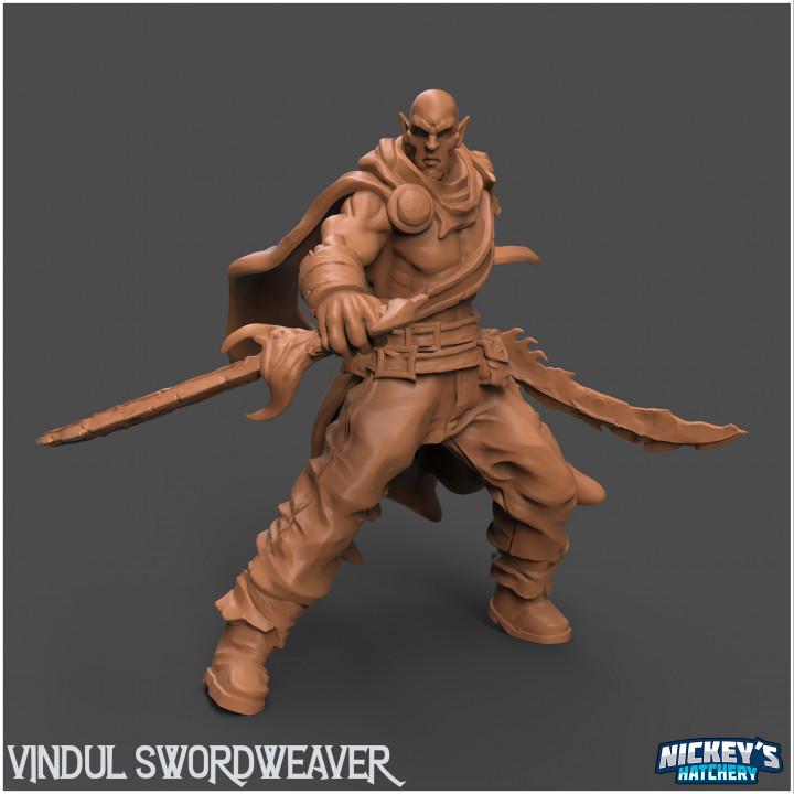 Vindul Swordweaver's Cover