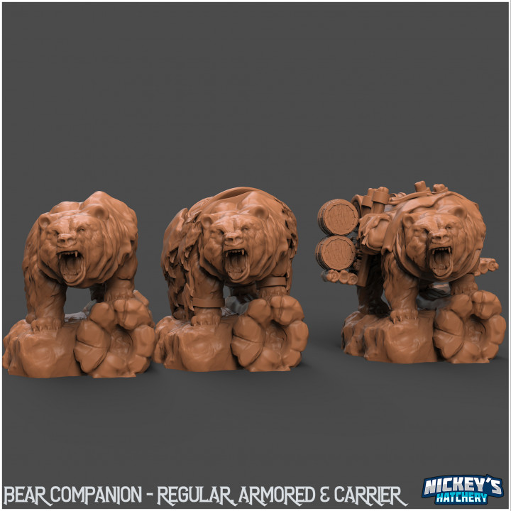 Bear Pack - Pet, Carrier, Armored's Cover